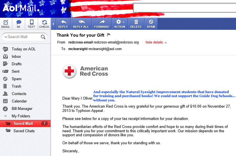 /Red Cross